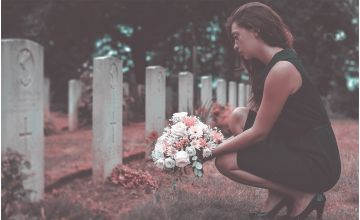 Memorial Flower for All Souls' Day