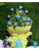 1 Dozen Blue Roses Spray (Arm Bouquet)
