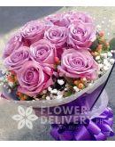 1 Dozen Ecuadorian Lavender Roses