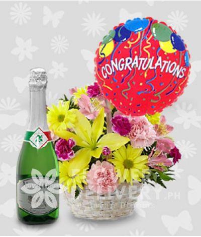 Congratulations Basket