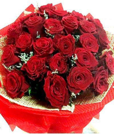 2 Dozen Ecuadorian Red Roses