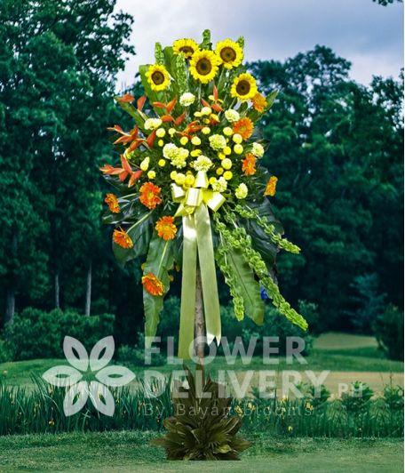 Inaugural Flower Standee 3