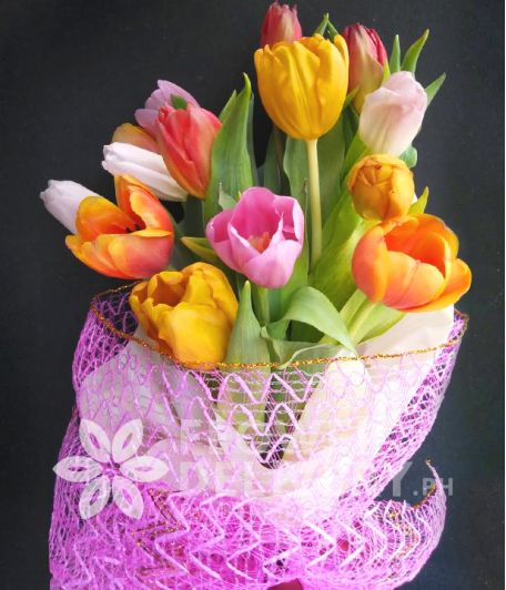 14 Assorted Tulips