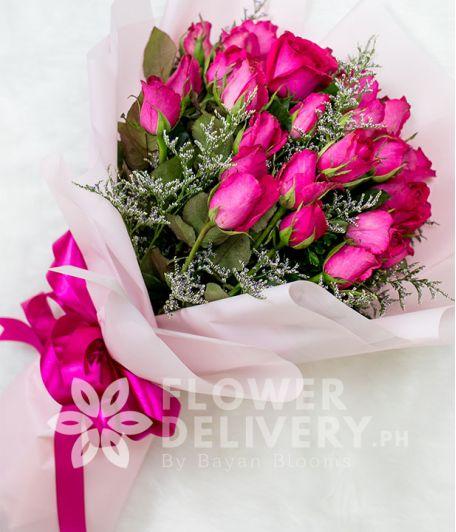 Beautiful Fusia Pink Roses