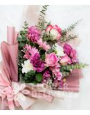 Elegant Mix Bouquet of Imported Roses