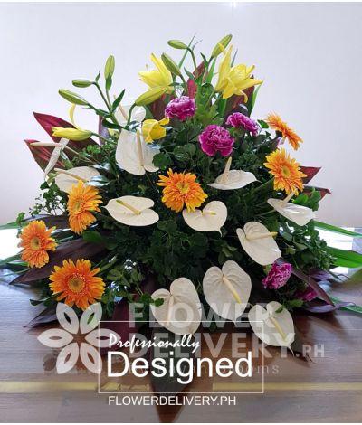 Elegant Memorial Flowers