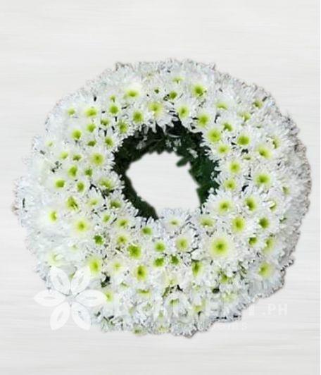 Circular Urn Flower Arrangement
